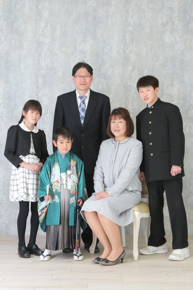 七五三 家族集合