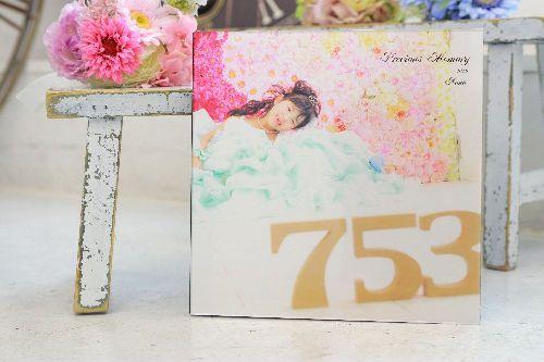 【七五三写真の人気のアルバム】台紙タイプ・BOOKタイプ 八木橋店